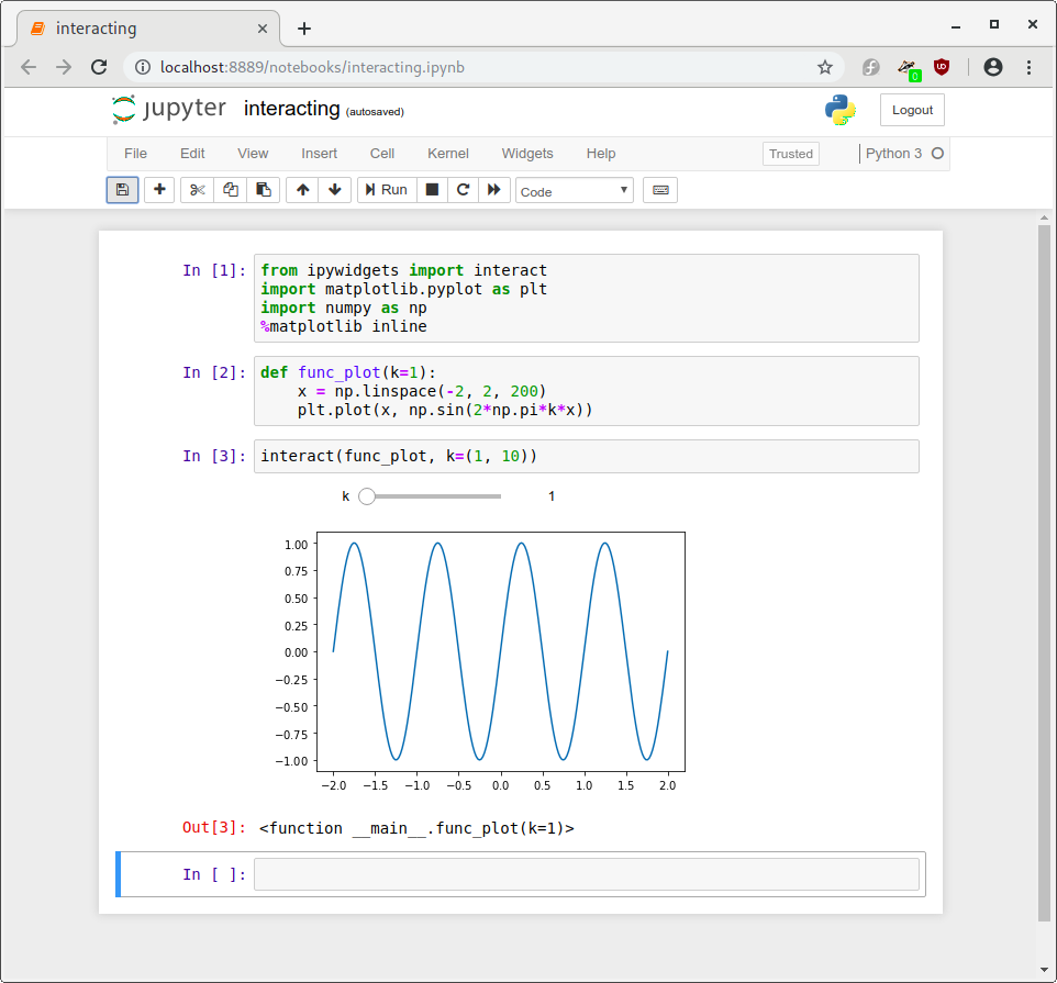 Chapter 5 Jupyter Notebook ecosystem   Teaching and Learning with
